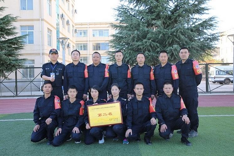 大关县公安局荣获2016年昭通市公安机关现场执法规范比武第二名